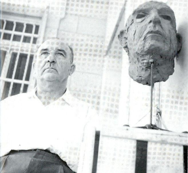 1963 PM Levi Eshkol's Portrait