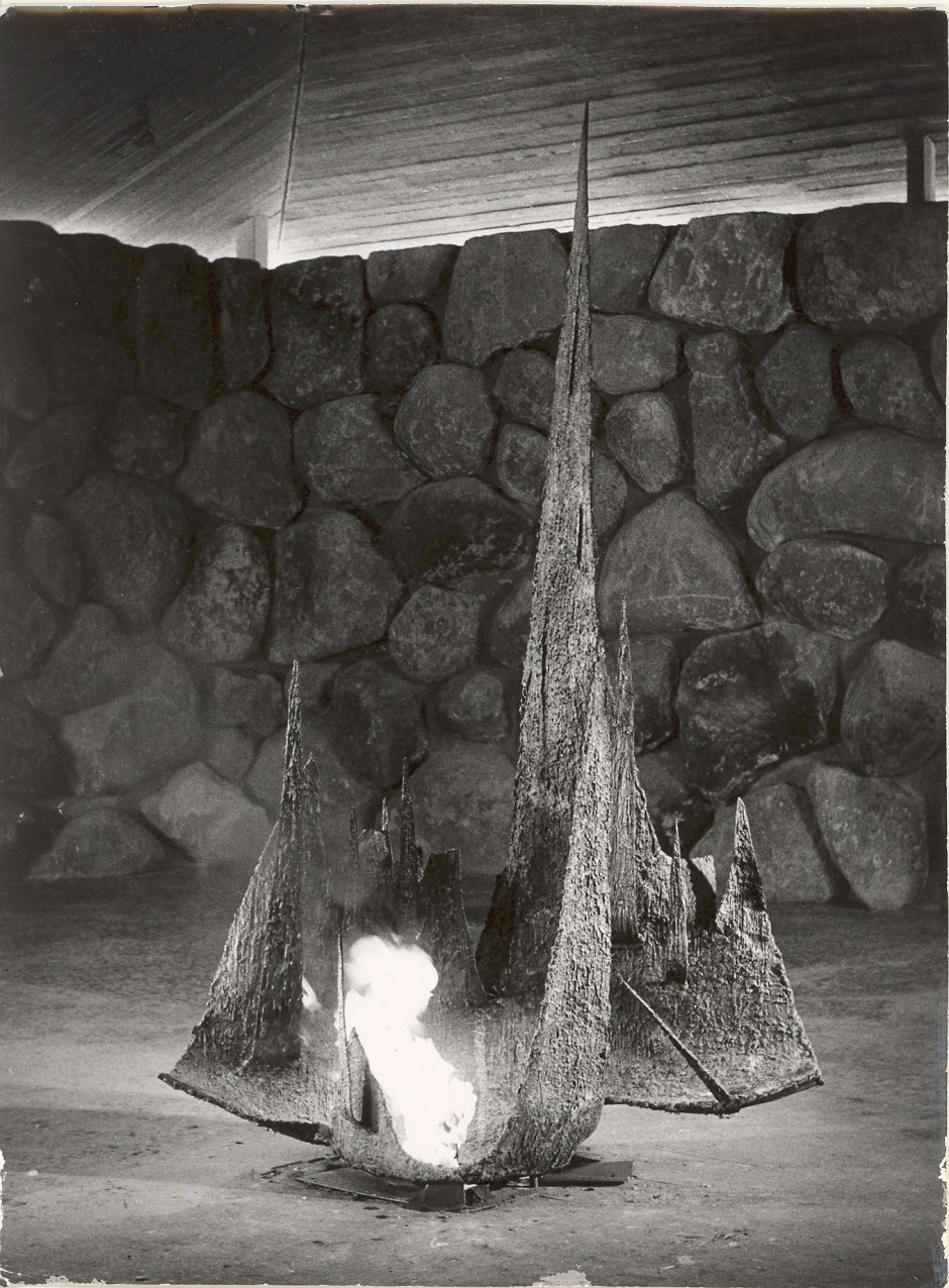 1960 Ner Tamid (The Eternal Flame), Yad VaShem