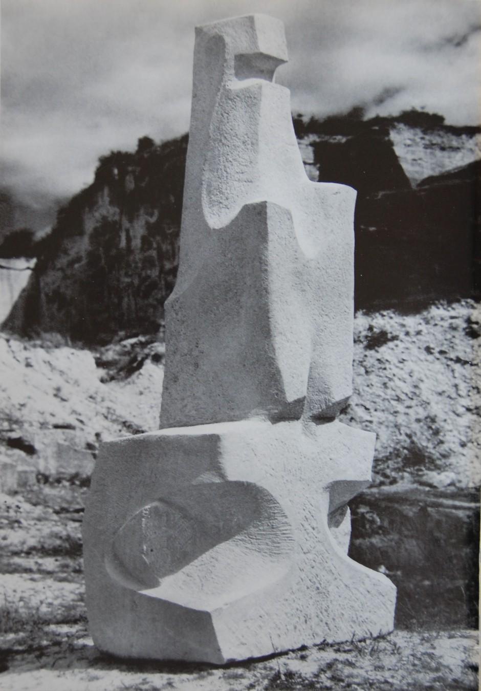 1960 'Symposion Europaischer Bildhauer' in St. Margarethen, Austria