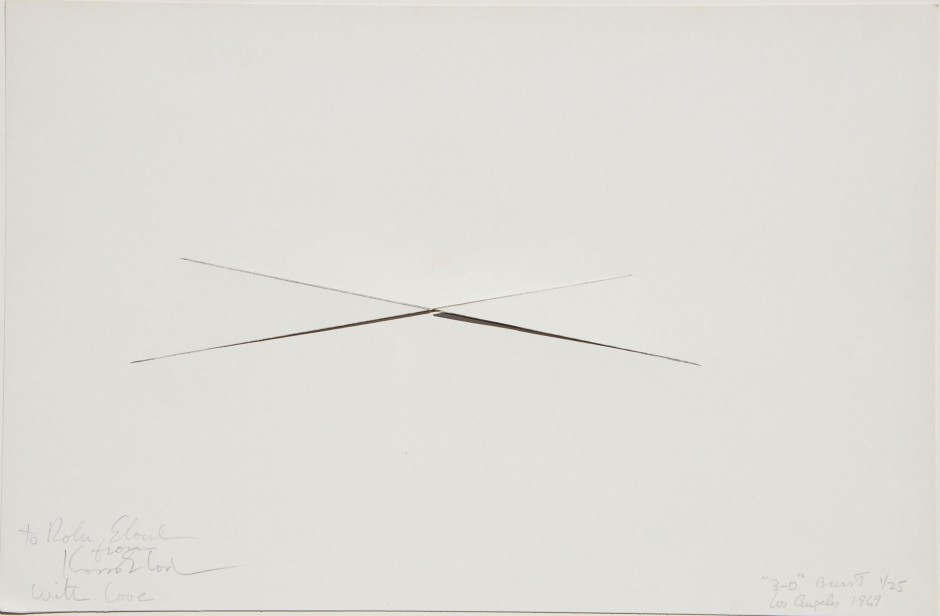 1966-1970 Works on Paper